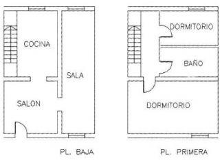 Venta entremedianeras ALGODONALES null, c. arrabaleria
