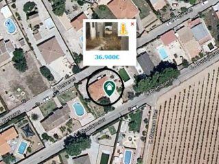 Piso en venta en Chiva de 58  m²