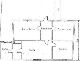 Piso en venta en Alhama De Almeria de 74  m²